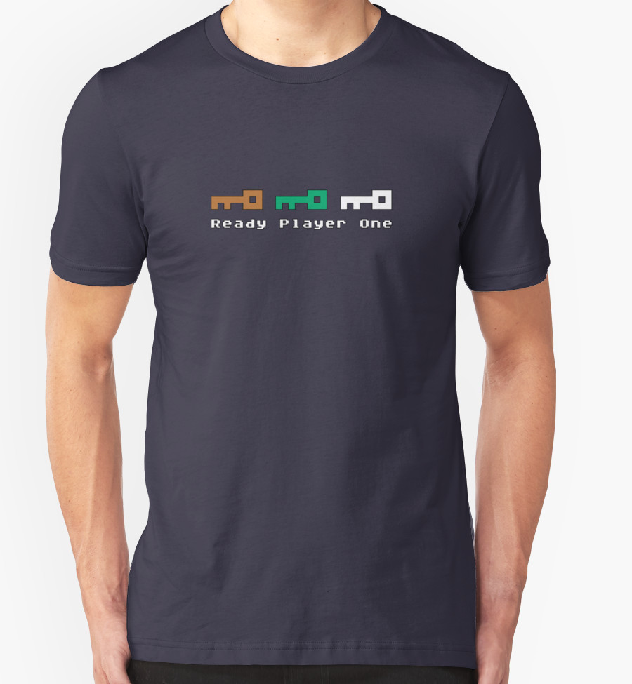 camiseta ready player