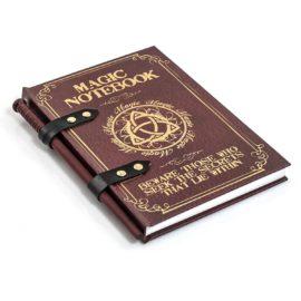 cuaderno hechizos